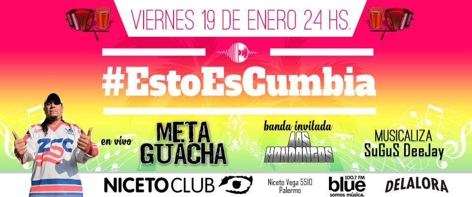 META GUACHA en Niceto Club